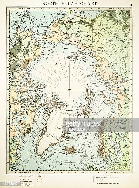 North Polar Chart 1897