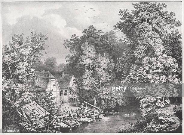 Northumberland mill-hideout de Alfredo o Grande