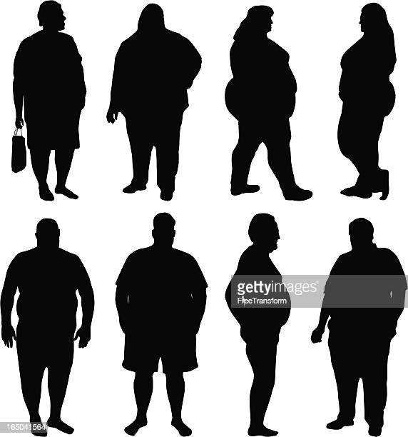 肥満疫病 - 太鼓腹点のイラスト素材/クリップアート素材/マンガ素材/アイコン素材