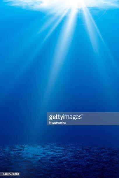 Ocean light underwater
