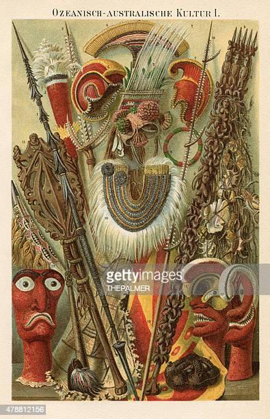Oceania Australia Culture 1896