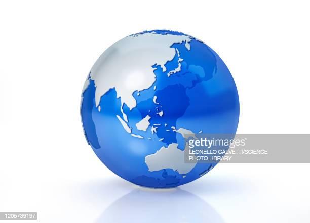 oceania, illustration - 地球点のイラスト素材/クリップアート素材/マンガ素材/アイコン素材