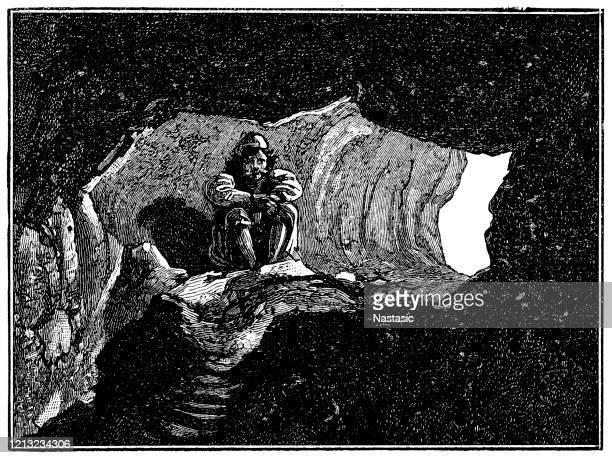 illustrations, cliparts, dessins animés et icônes de grotte d'ulysse - ulysse