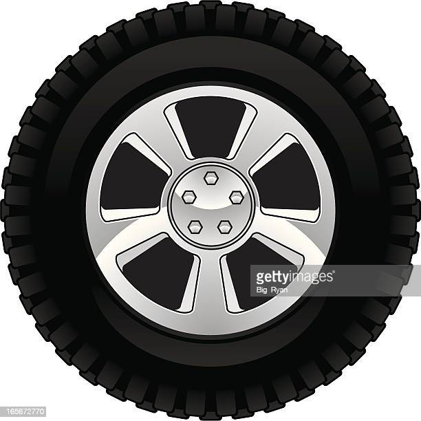 off road tire - rubber stock illustrations, clip art, cartoons, & icons