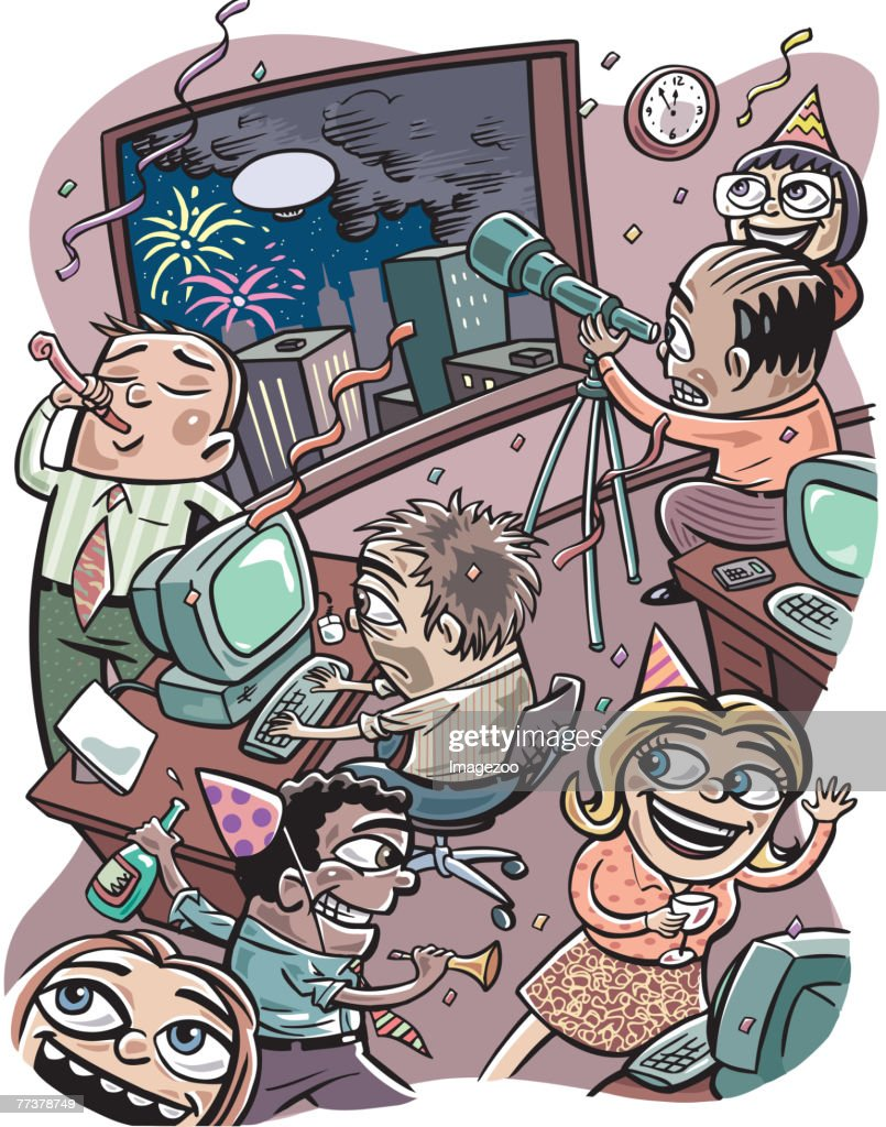 office party : Illustration