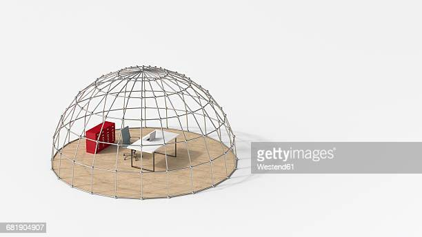office under domed grid - office safety stock illustrations, clip art, cartoons, & icons