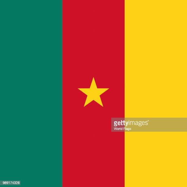 Official national flag of Cameroon
