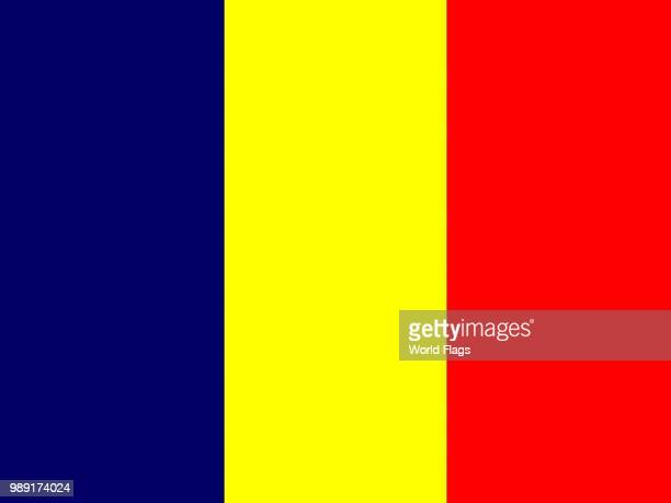 Official national flag of Chad