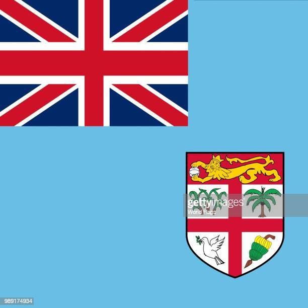 Official national flag of Fiji