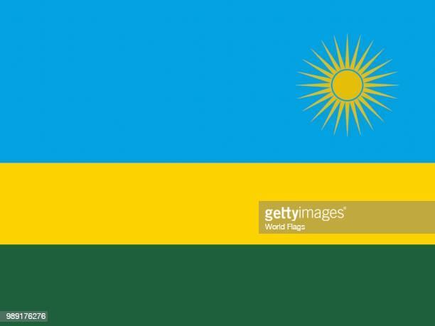 Official national flag of Rwanda
