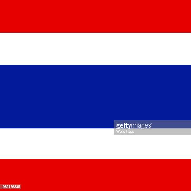 Official national flag of Thailand