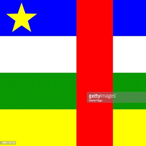 Official national flag of the Central African Republic