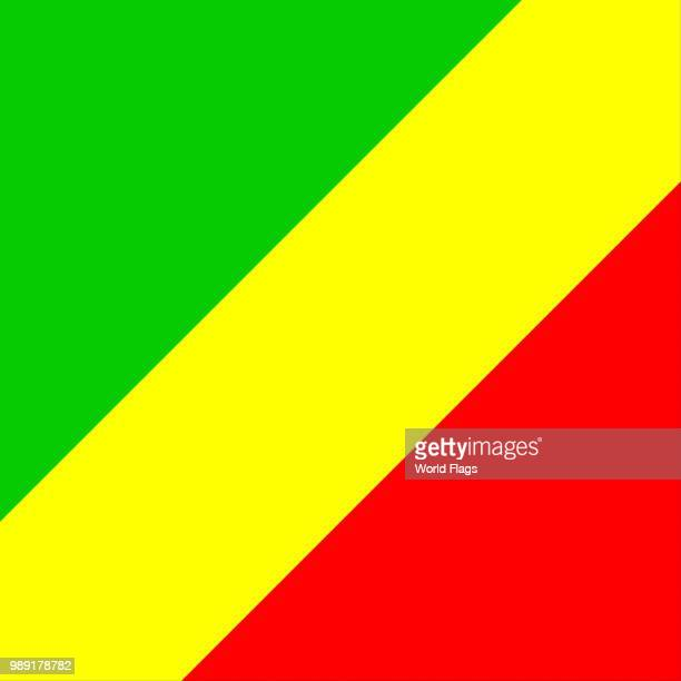 Official national flag of the Republic Congo