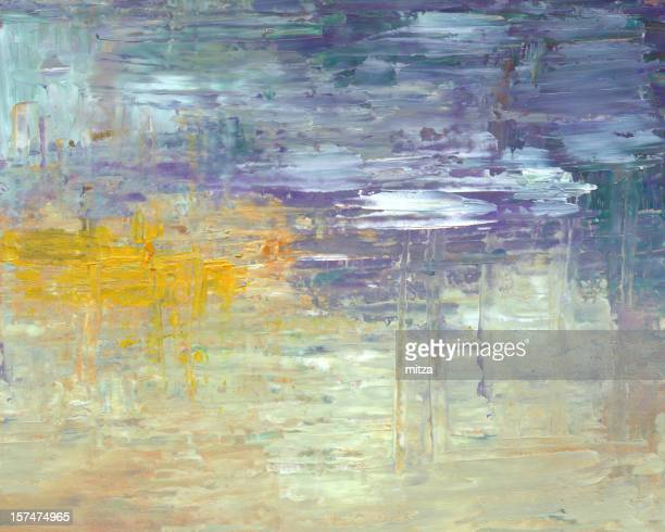 Oil painted Abstract background (water surface)
