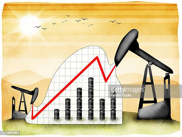 oil refinery - erection stock illustrations, clip art, cartoons, & icons