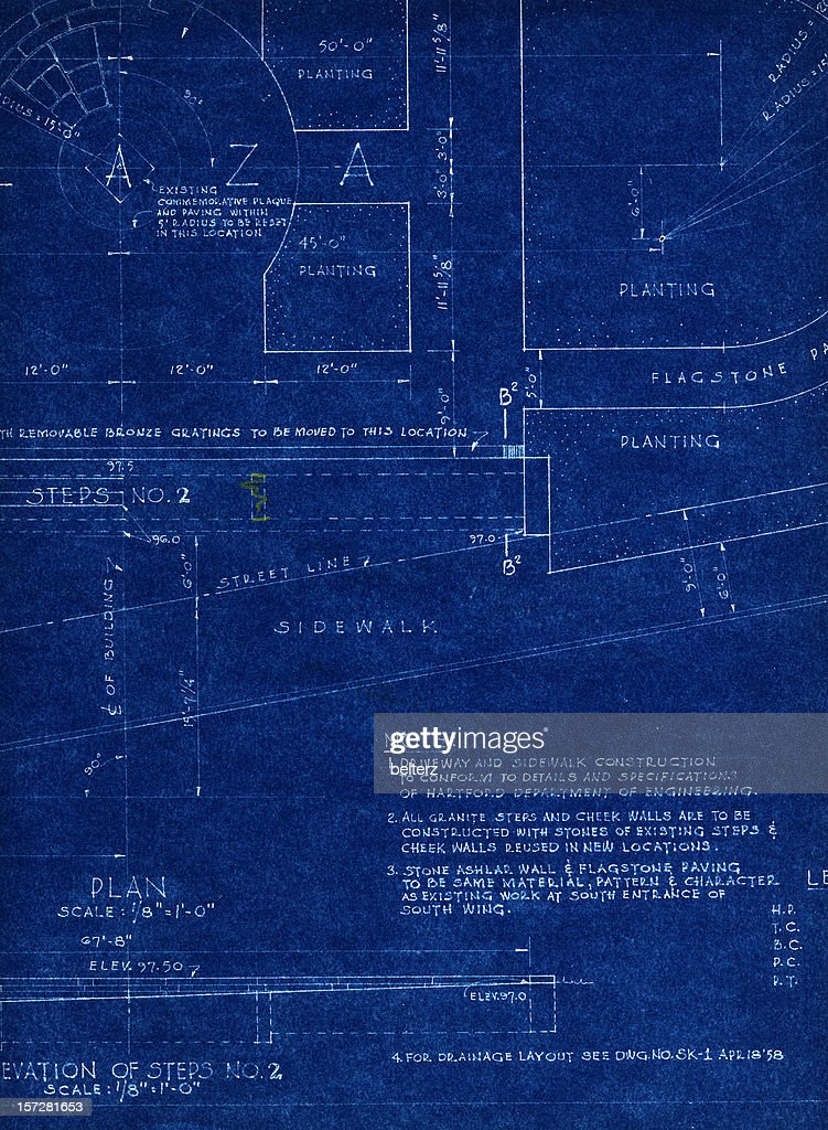 Old blueprint stock illustration getty images old blueprint stock illustration malvernweather Images