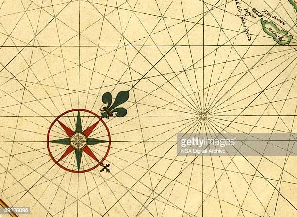 ilustrações, clipart, desenhos animados e ícones de o compass rose - incerteza