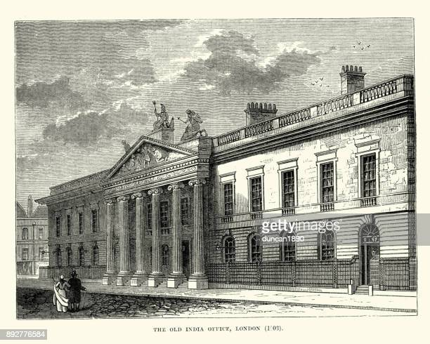 Old East India House Office, London, 19th Century