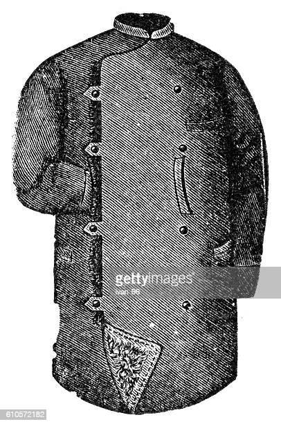 old fashion jacket - jacket stock illustrations