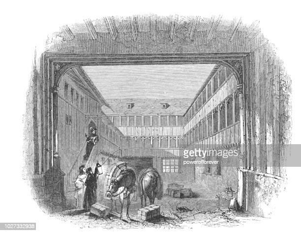 Old Inn in Rochester, Kent, England - Works of William Shakespeare