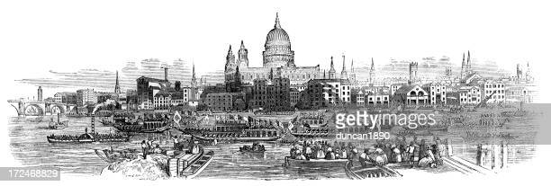 Old London Skyline