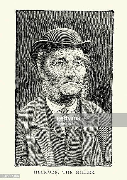 Old man from, South Zeal,  Dartmoor 19th Century