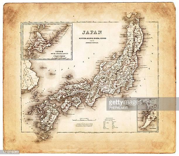 old map 日本 1874