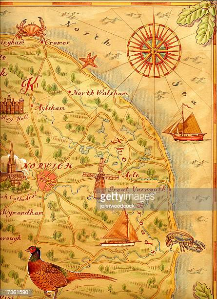 Carte Angleterre Norwich.Illustrations Et Dessins Animes De Norwich Angleterre Getty Images
