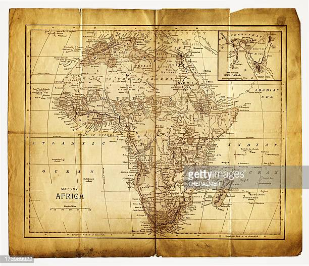 old map of africa - ethiopia stock illustrations, clip art, cartoons, & icons