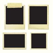 Old Photo Frames (vector + XXL jpg in ZIP folder)