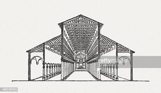 ilustrações de stock, clip art, desenhos animados e ícones de basílica de são pedro - st. peter's basilica the vatican