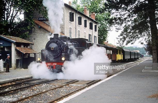 Old train connecting Anduze to Saint Jean du Gard