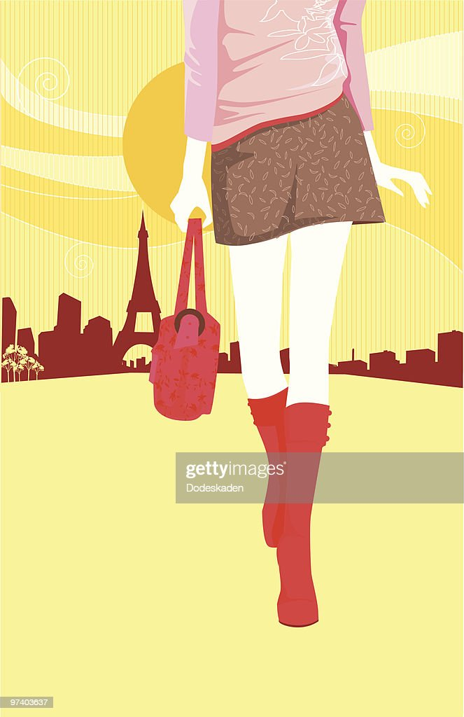 On my Way : stock illustration