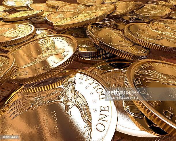 One Dollar coins, artwork