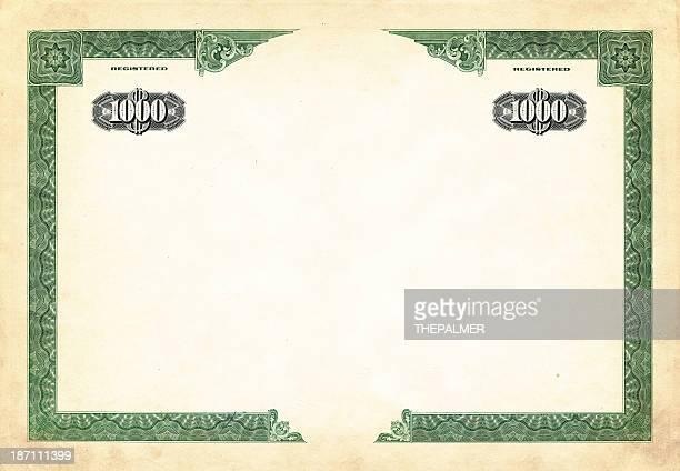 one thousand dollar bond