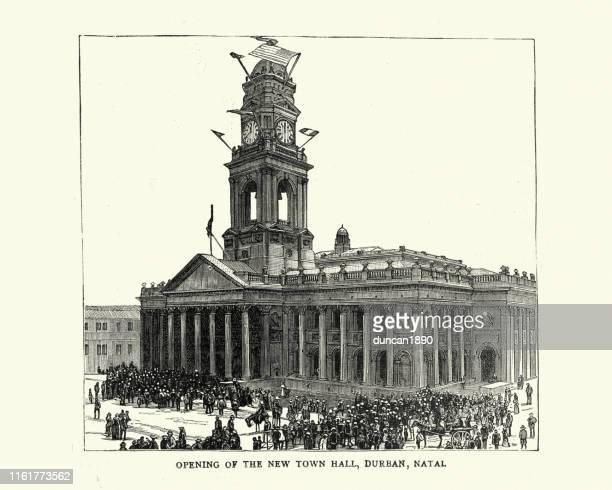 Opening of Town Hall, Durban, Natal, South Africa 19th Century
