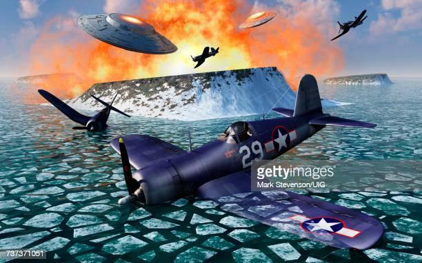 operation high jump, at the antarctic - conspiracy stock illustrations, clip art, cartoons, & icons