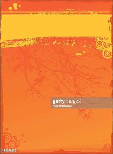 ilustrações de stock, clip art, desenhos animados e ícones de fundo abstrato laranja - laranjeira
