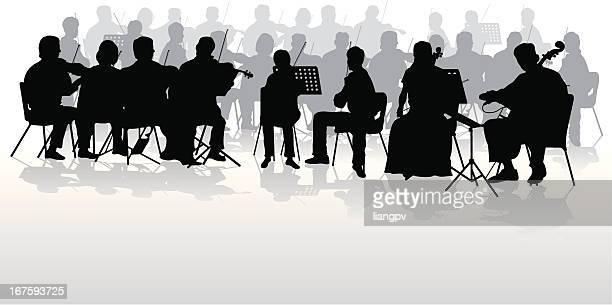 60点のオーケストラのイラスト素材クリップアート素材マンガ素材
