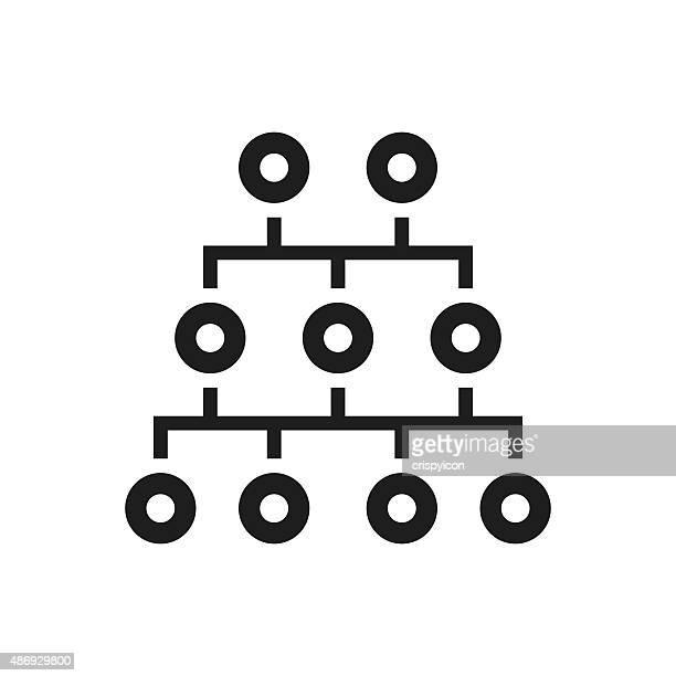 Organization Chart icon on a white background.