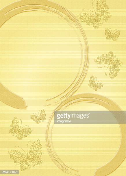 oriental background with butterfly and circle - {{relatedsearchurl('county fair')}} stock illustrations, clip art, cartoons, & icons