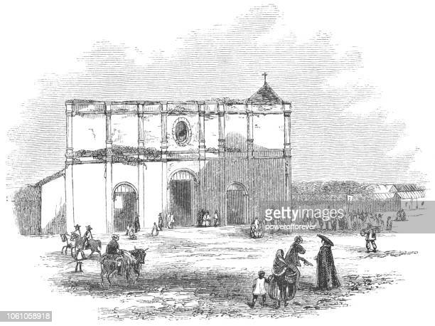 Original Metropolitan Cathedral of San José in San José, Costa Rica (19th Century)