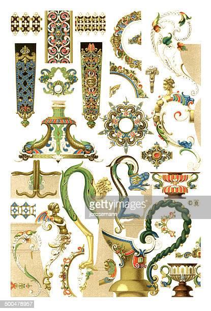 Ornaments Jewellery 17th Century