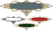 Ornate Banner Design