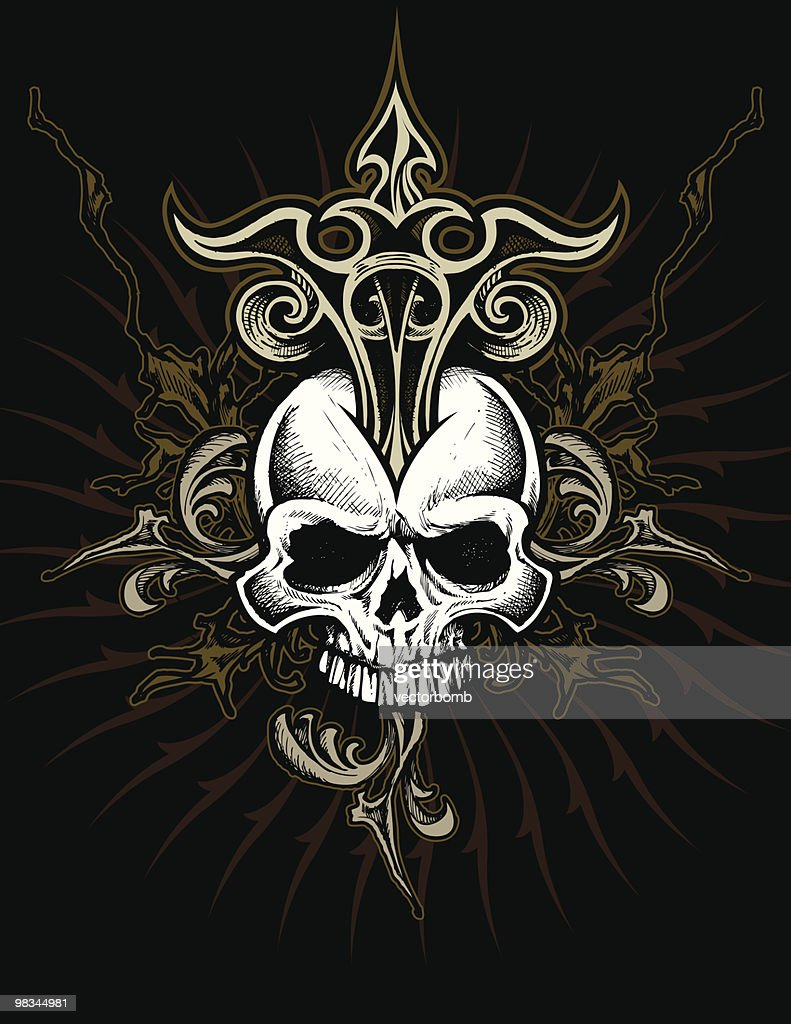 Ornate Skull Design