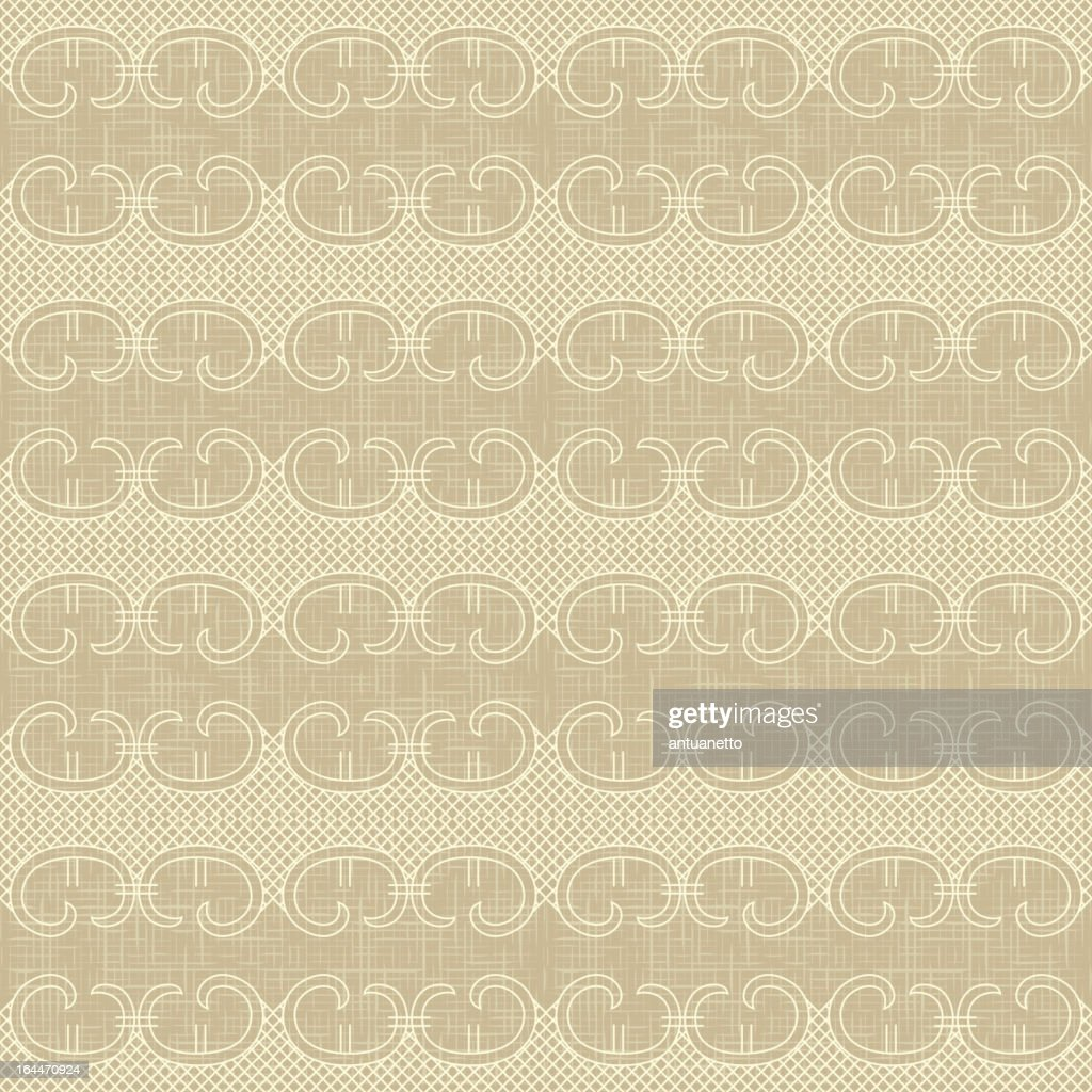 Ornate vector vintage seamless pattern
