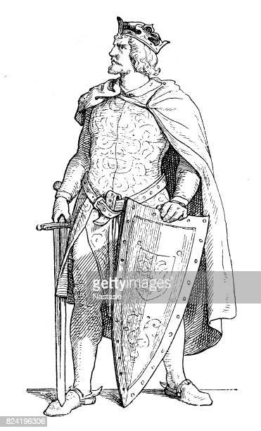 otto iv, holy roman emperor - holy roman emperor stock illustrations