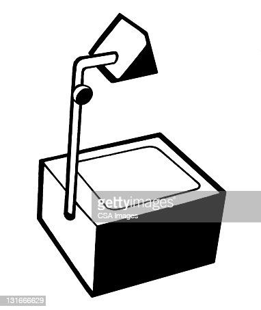 Overhead Projector Stock Illustration Getty Images