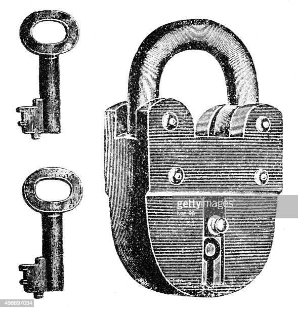 padlock engraving