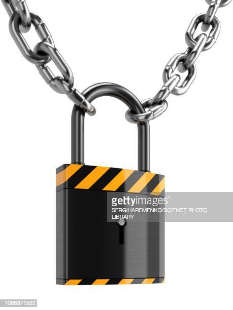 padlock, illustration - lock stock illustrations